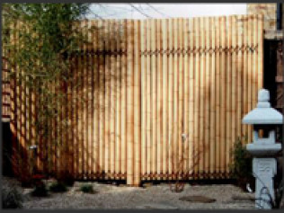 Bamboo Fence Systems