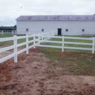 Vinyl Rail Fence Systems