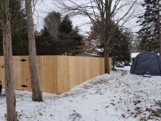 Privacy Wood Fence Systems